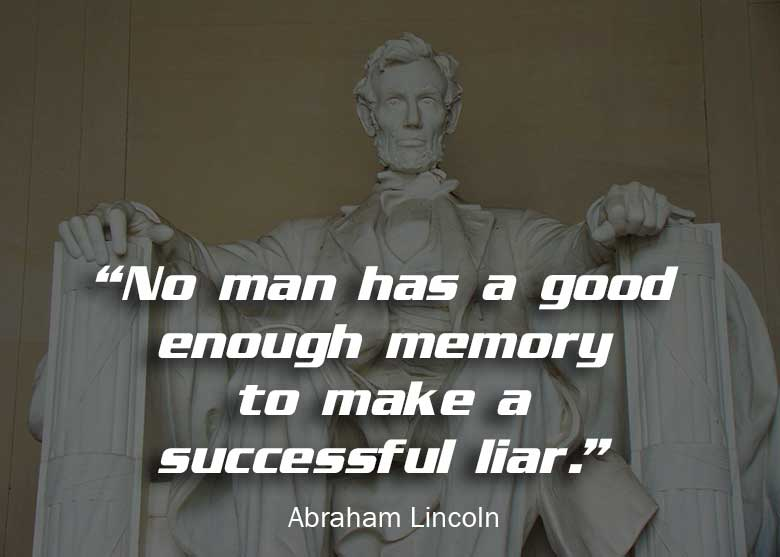 Abraham Lincoln Sayings and Quotes