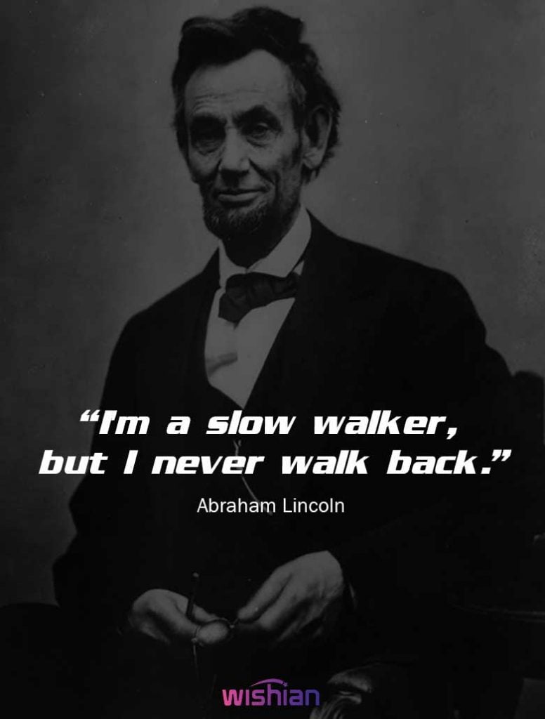 Lincoln motivational Quotes