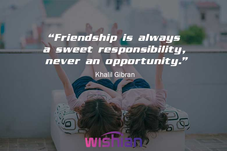 Popular Quotes about Friendship