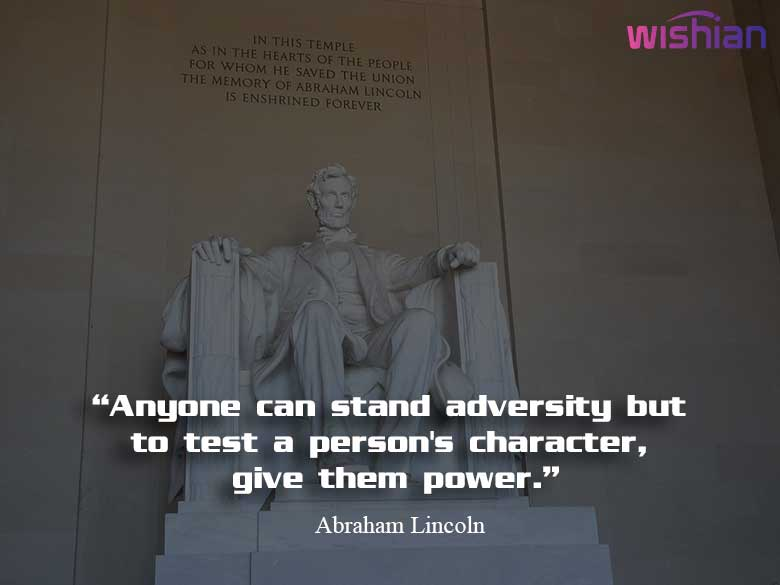 President Lincoln Quotes about politics