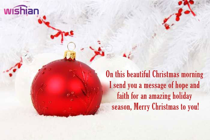 Best Christmas Message for your Family