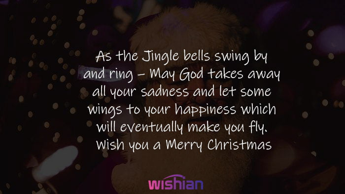 Heartwarming Christmas Message for Friends