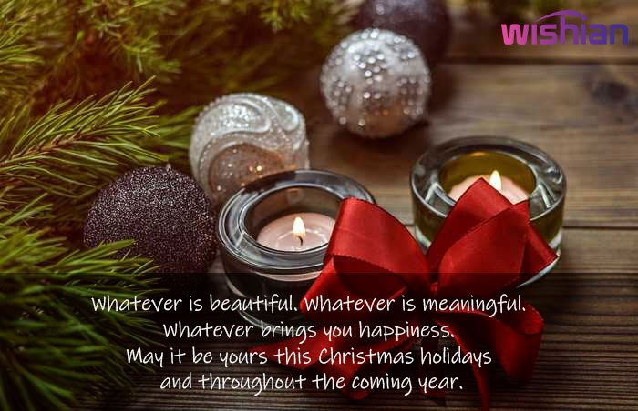 Motivational Xmas Greetings Wishes