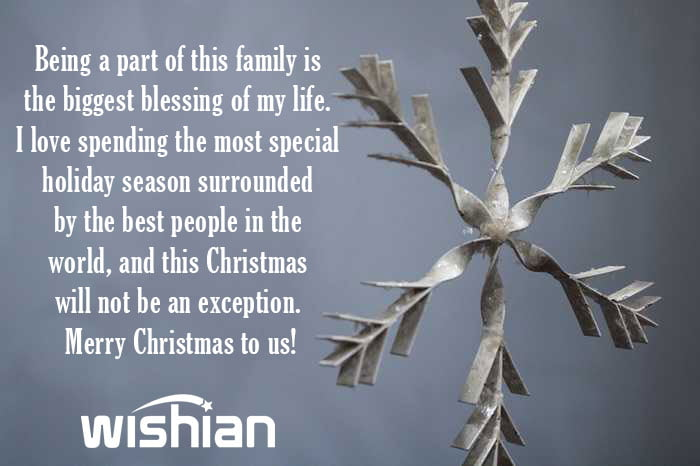 Xmas Wishes from my Family to yours