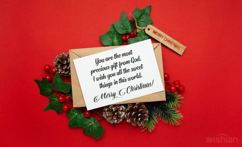 Beautiful Christmas card Messages for Him