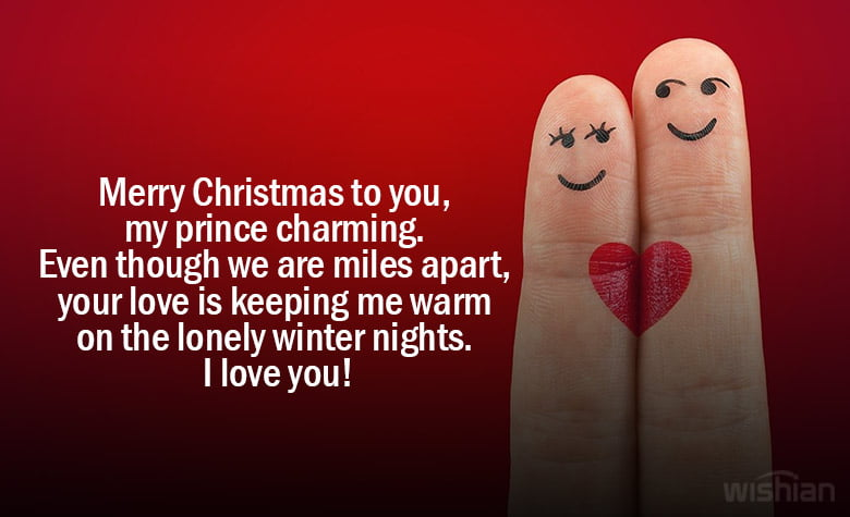 Christmas Wishes for Long Distant Boyfriend