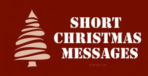 Short Christmas Messages Featured Image