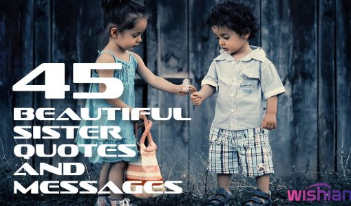 Beautiful Sister Quotes Messages
