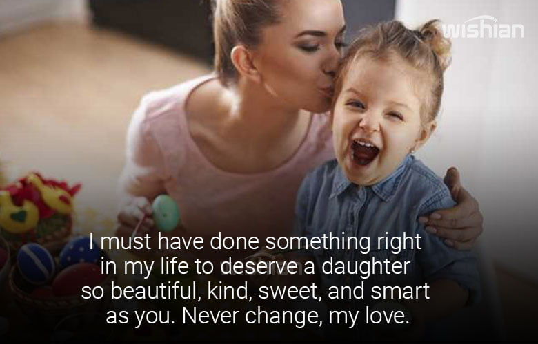Sweet Quotes about Daughter Image