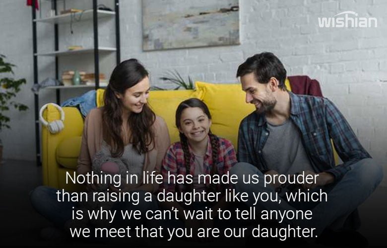 I am Proud of You Messages for Daughter