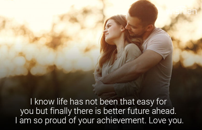 Proud of You Messages for Boyfriend