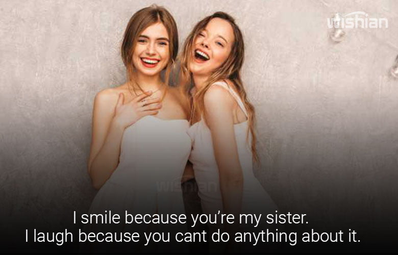 Proud of You Quotes for Sister