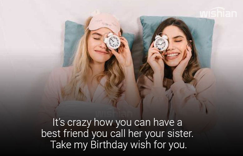 Sweet Sister Birthday Wishes