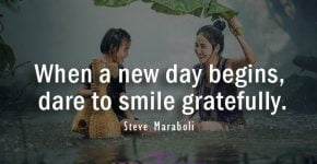 A new day quote by Steve Maraboli