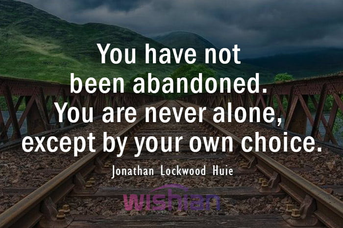 Abandoned Quotes by Jonathan Lockwood Huie
