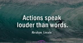 Abraham Lincoln Quotes About Action