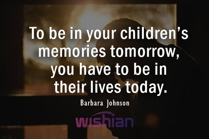 Absent Father Quote by Barbara Johnson