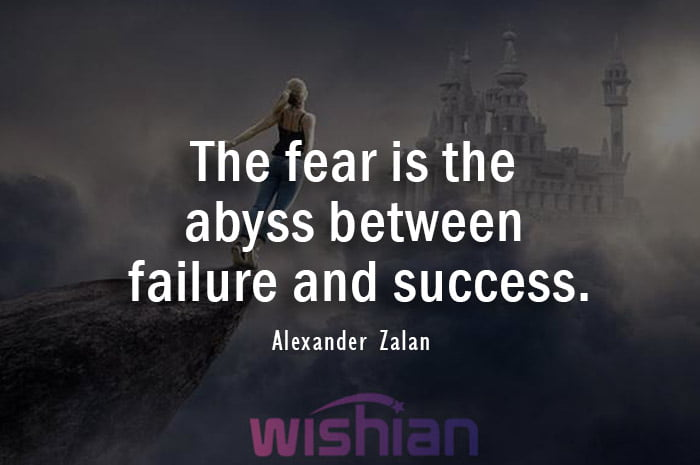 Abyss Quote by Alexander Zalan