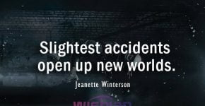 Accident Quotes by Jeanette Winterson