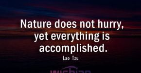 Accomplished Nature Quote by Lao Tzu