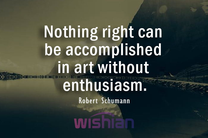 Accomplished Quote by Robert Schumann