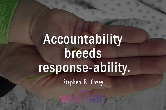 Accountability Quotes by Stephen R. Covey