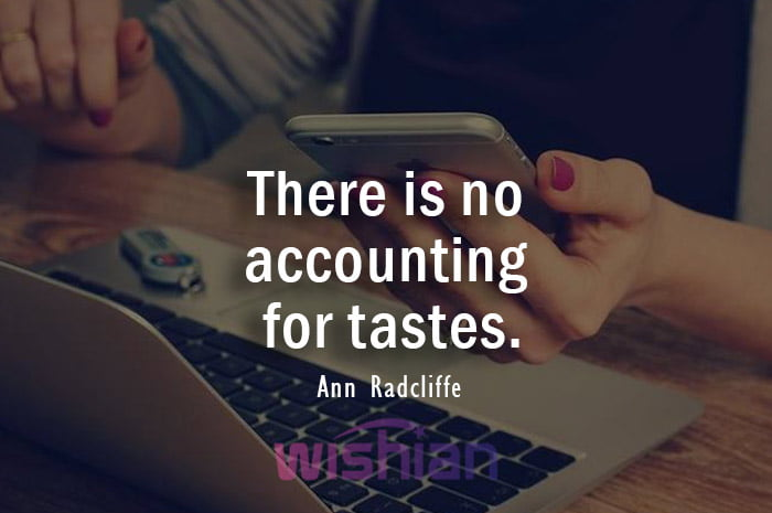 Accounting Quotes by Ann Radcliffe