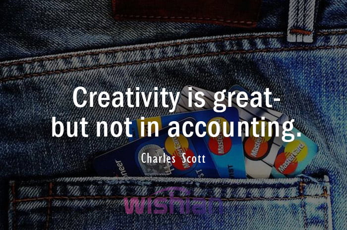 Accounting Quotes by Charles Scott