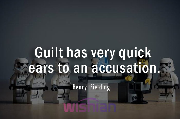 Accusation Quotes by Henry Fielding
