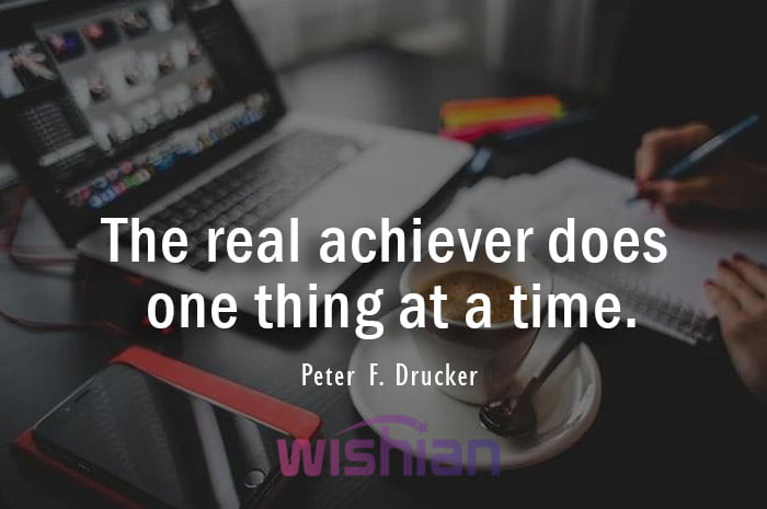 Achiever Quotes by Peter F. Drucker