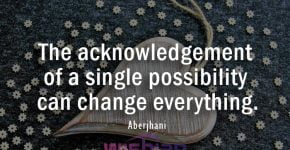 Acknowledgement Quote by Aberjhani