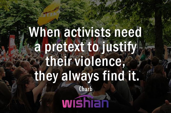 Activist Quote by Charb