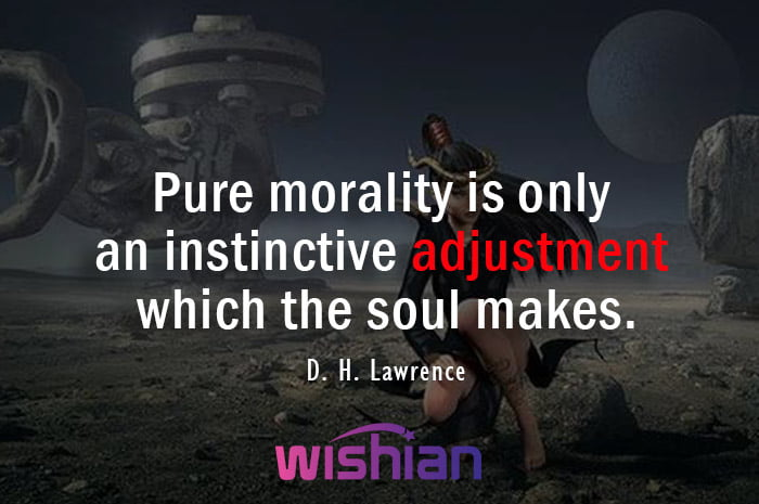 Adjustment Quotes by D. H. Lawrence