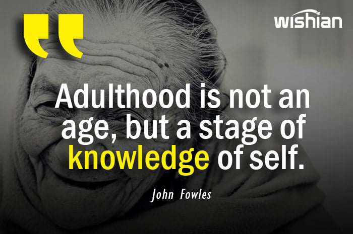 Adulthood Quotes by John Fowles