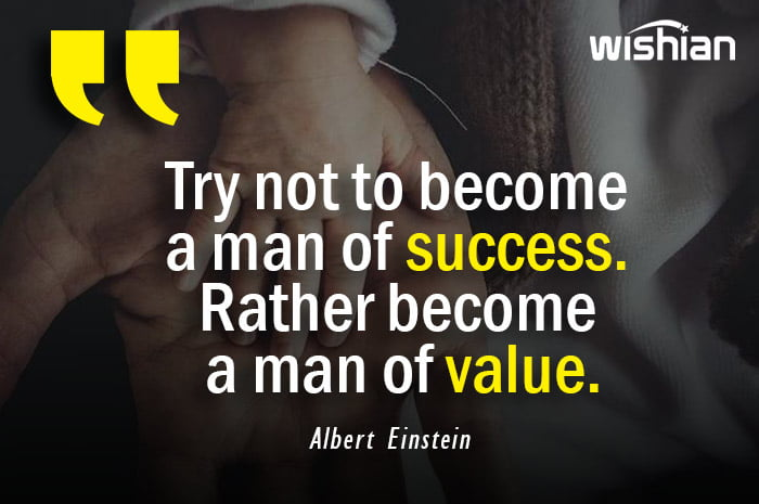Adulthood advice Quotes by Albert Einstein for men