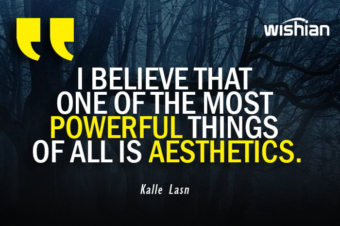 Aesthetic Quotes by Kalle Lasn