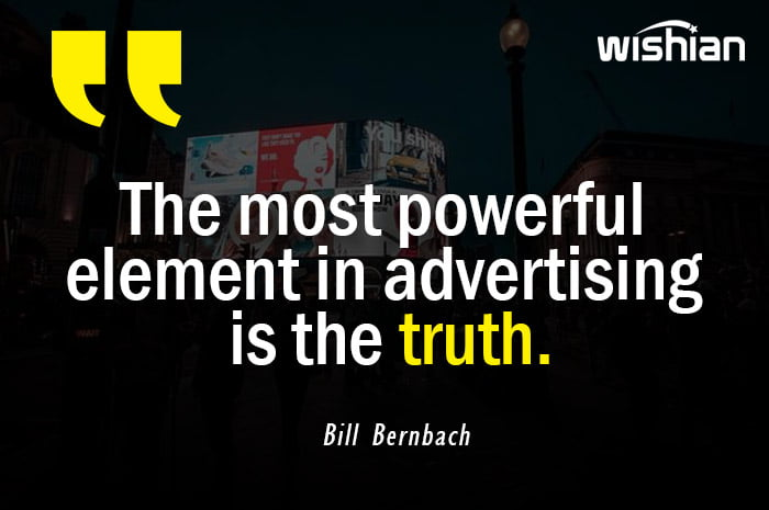 Bill Bernbach Quotes on Advertising