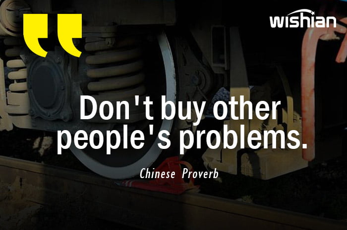 Chinese Proverb on Adversity