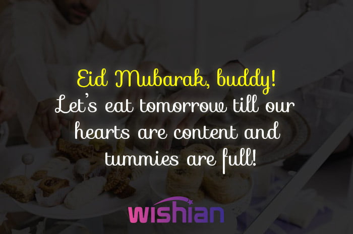 Eid Mubarak Buddy wishes with images free download