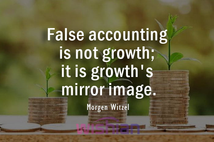 False Accounting Quotes by Morgen Witzel