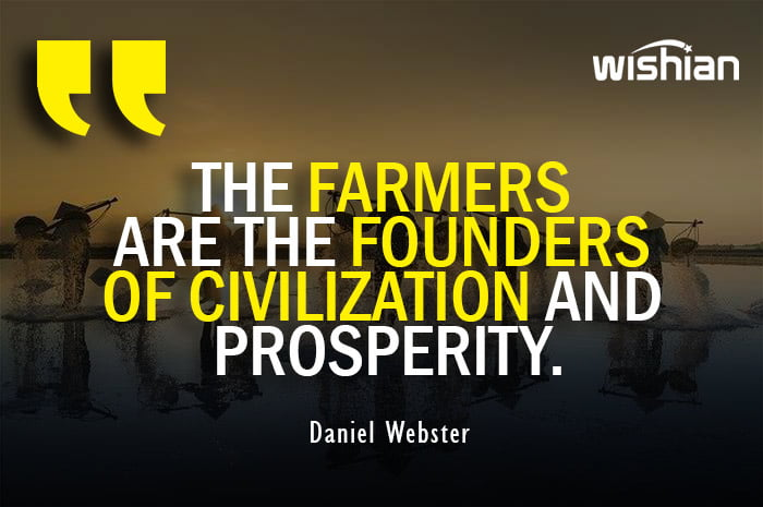 Farmers are the founder of Civilization Quotes by Daniel Webster