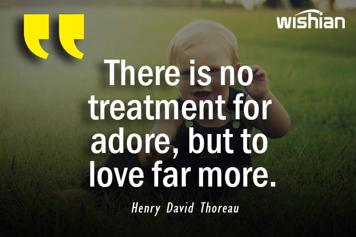 Henry David Thoreau Quotes about love and adore