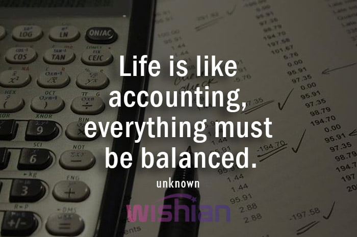 Motivational Accounting Quotes with Image