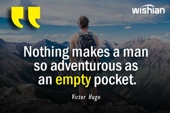 Motivational Adventurous Quotes by Victor Hugo