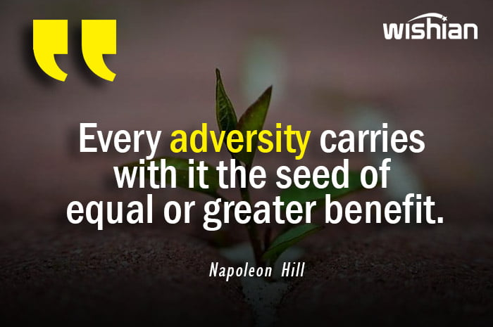 Napoleon Hill Quotes about Adversity