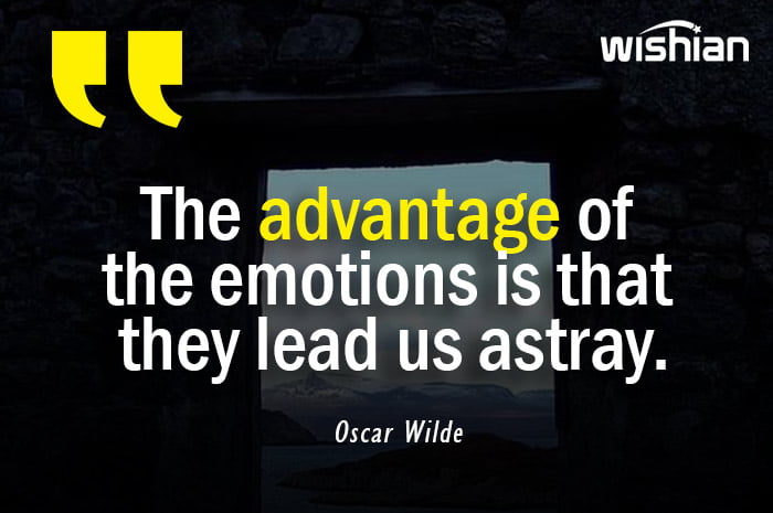 Oscar Wilde Quotes about Astray