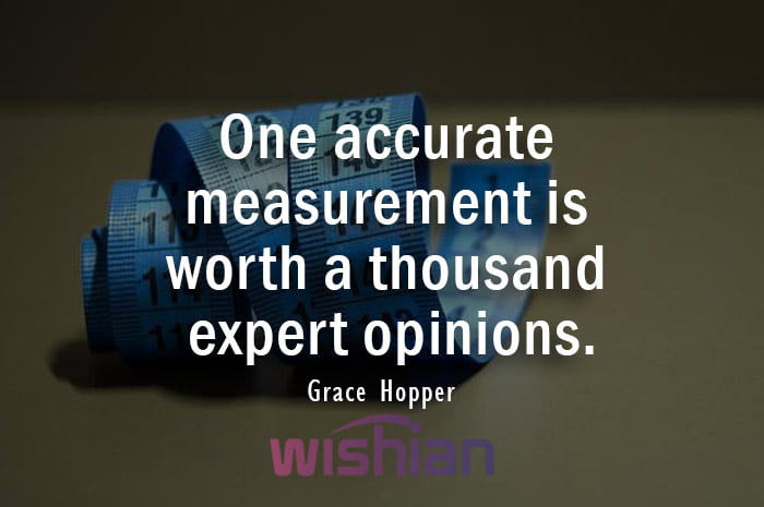 Quote About Accuracy by Grace Hopper