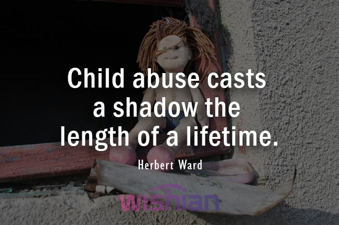Quotes about Child Abuse by Herbert Ward