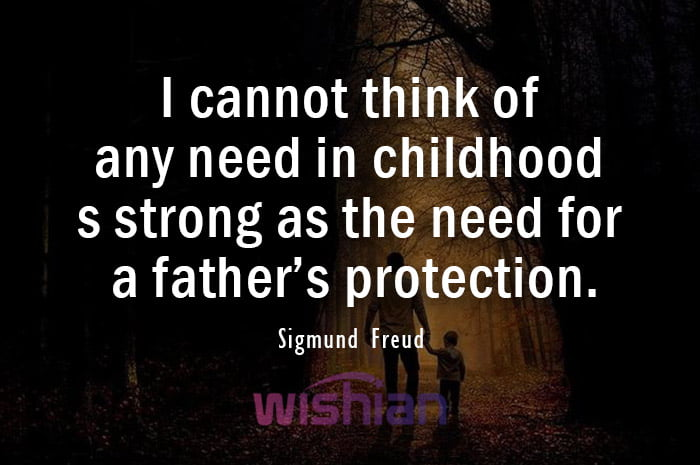 Sigmund Freud Quotes about Absent Dad