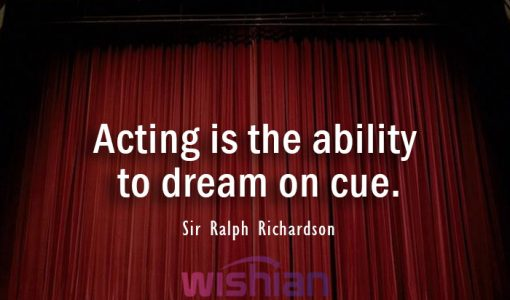 Sir Ralph Richardson Quote about Acting